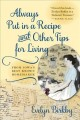 Go to record Always put in a recipe and other tips for living from Iowa...