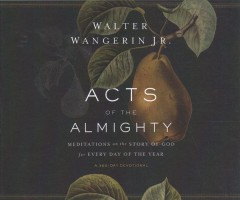 Acts of the Almighty : meditations on the story of God for every day of the year
