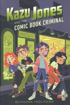 Kazu Jones and the comic book criminal #2
