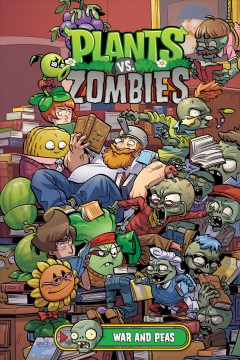 Plants vs. Zombies War and peas