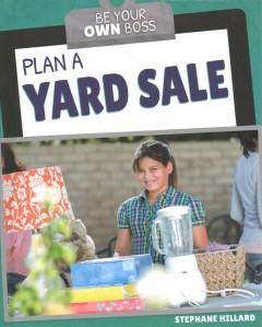 Plan a yard sale
