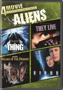 4 movie midnight marathon pack Aliens