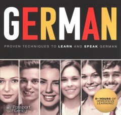 German : proven techniques to learn and speak German