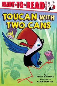 Toucan with two cans