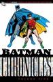 Go to record Batman chronicles. Volume five